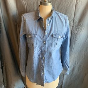 🆕 J. Crew Factory Perfect Fit Chambray Shirt